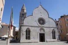 Cattedrale di Muggia fotografia stock libera da diritti