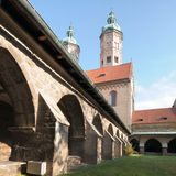 Cattedrale di Naumburg, Sassonia-Anhalt, Germania Immagine Stock