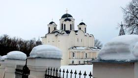 Cattedrale di Nikolo-Dvorishchensky Immagine Stock