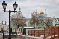 Cattedrale di Nikolsky a Kazan Immagine Stock