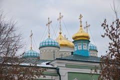 Cattedrale di Nikolsky a Kazan Fotografie Stock Libere da Diritti