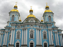 Cattedrale di Nikolsky, St Petersburg Immagini Stock Libere da Diritti