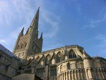 Cattedrale di Norwich Fotografie Stock