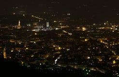 Cattedrale di notte Fotografia Stock