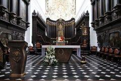 Cattedrale di Oliwa - di Danzica Immagini Stock Libere da Diritti