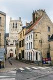 Cattedrale di Omer del san, Francia Immagini Stock