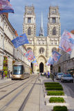 Cattedrale di Orleans Immagini Stock Libere da Diritti