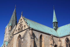Cattedrale di Paderborn fotografie stock