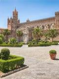 Cattedrale di Palermo & x28; Cattedrale metropolitana del presupposto del vergine Mary& x29; a Palermo, la Sicilia, Italia Fotografia Stock