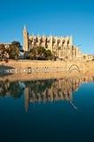 Cattedrale di Palma Fotografie Stock Libere da Diritti