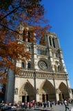 Cattedrale di Parigi Notre Dame fotografie stock