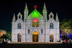 Cattedrale di Patrick's del san, Pune, maharashtra, India Fotografia Stock
