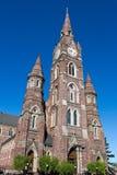 Cattedrale di pietra rossa Immagini Stock Libere da Diritti
