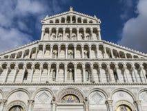 Cattedrale di Pisa sul dei Miracoli della piazza a Pisa, Toscana, Italia Immagine Stock