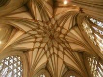 Cattedrale di pozzi, Somerset Fotografie Stock Libere da Diritti