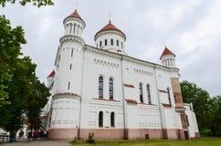 Cattedrale di Prechistenskiy, Vilnius, Lituania Fotografie Stock