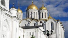 Cattedrale di presupposto Vladimir, stock footage