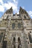 Cattedrale di Regensburg Fotografie Stock Libere da Diritti