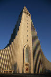 Cattedrale di Reykjavik Fotografia Stock