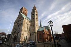 Cattedrale di Ribe fotografia stock libera da diritti