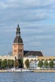 Cattedrale di Riga di St Mary Immagini Stock Libere da Diritti