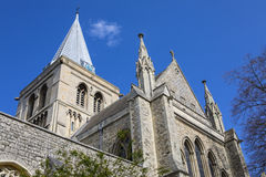 Cattedrale di Rochester in Risonanza Fotografie Stock Libere da Diritti
