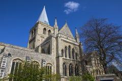 Cattedrale di Rochester in Risonanza Fotografie Stock