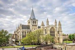 Cattedrale di Rochester in Risonanza, Inghilterra Immagini Stock