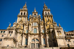 Cattedrale di Romanesque Fotografia Stock