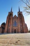Cattedrale di Roskilde Fotografia Stock