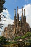 Cattedrale di Sagrada Familia Fotografia Stock