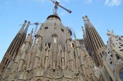 Cattedrale di Sagrada Familia Fotografie Stock