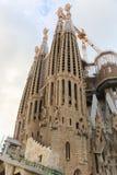 Cattedrale di Sagrada Familia - Spagna Fotografia Stock Libera da Diritti