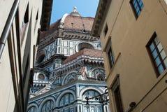 Cattedrale di saint maria del fiore, Firenze, Italia Fotografia Stock