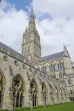 Cattedrale di Salisbury Fotografie Stock Libere da Diritti