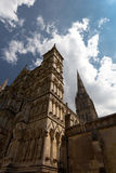 Cattedrale di Salisbury Immagini Stock Libere da Diritti