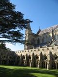 Cattedrale di Salisbury Fotografia Stock