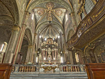 Cattedrale di Saluzzo Fotografie Stock