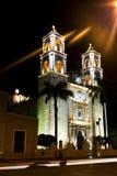 Cattedrale di San Gervasio a Valladolid, Messico fotografia stock libera da diritti