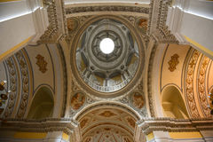 Cattedrale di San Juan Bautista, San Juan, Porto Rico Immagine Stock Libera da Diritti