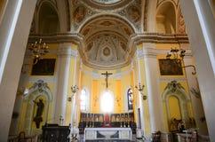 Cattedrale di San Juan Bautista, San Juan, Porto Rico Immagine Stock