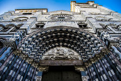 Cattedrale di San Lorenzo, Genoa Stock Photos