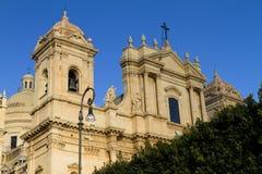 Cattedrale di San Nicola, Noto Immagine Stock