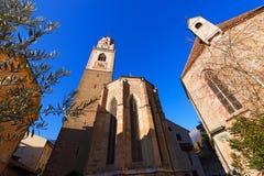 Cattedrale di San Nicolo - Merano Italia Immagini Stock