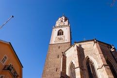 Cattedrale di San Nicolo - Merano Italia Immagine Stock Libera da Diritti