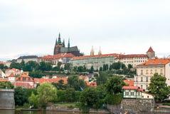 Cattedrale di San Vito e castello, Praga, repubblica Ceca Immagine Stock Libera da Diritti