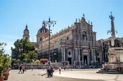 Cattedrale Di sant'Agata Obraz Stock