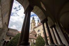 Cattedrale di Santa Maria Assunta in Bressanone, Italia immagine stock libera da diritti