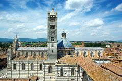 Cattedrale di Santa Maria Assunta, Siena Royalty Free Stock Photo