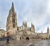 Cattedrale di Santa Maria, Burgos, Castiglia, Spagna. Fotografie Stock